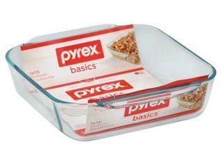 Pyrex Basics 8  Square Glass Baking Pan