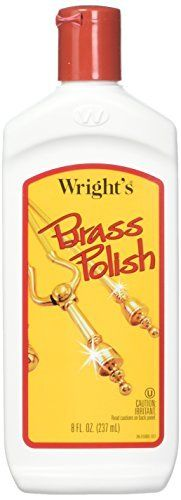 J A Wright Brass Polish Cleaner  8 Ounce  993188   6 per case