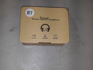 Wireless Sport Headphones  Pink
