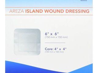 Bordered Gauze Island Dressing 6  x 6  Sterile latex Free 30 Per Box