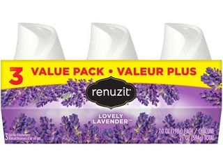 Renuzit lavender Gel Air Freshener   7oz   3ct