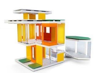 Mini Modern Colors 2 0 Kids Architectural Scale Model Building Kit
