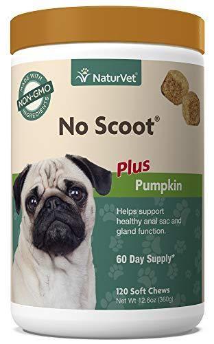 NaturVet   No Scoot for Dogs   120 Soft Chews