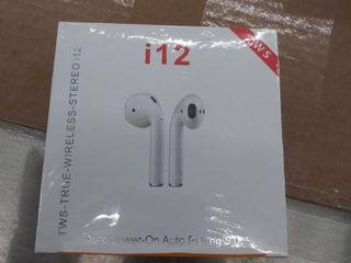wireless earbuds i12