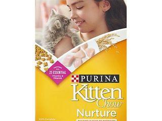 Purina Kitten Chow Nurture Dry Cat Food 3 15 lb