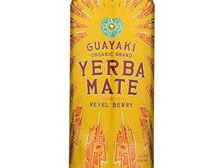 Guayaki Yerba Mate   Revel Berry   Case of 12   15 5 Fl oz