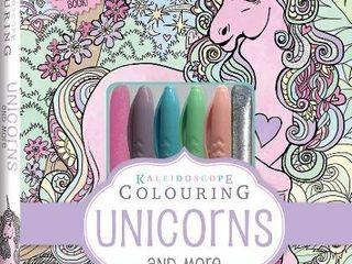 Kaleidoscope Pastel Colouring Kit  Unicorn