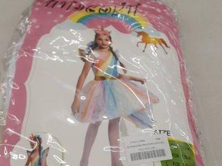 Girls Unicorn Costume size Xl