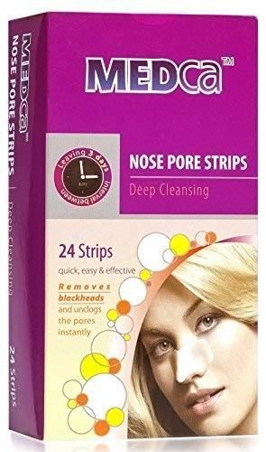4 MEDca Deep Cleansing Nose Pore Strips  24 Count  Packaging May Vary