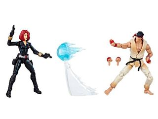 Marvel Gamerverse Marvel vs  Capcom Black Widow vs  Ryu 2 pack