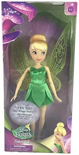Disney Fairies and Peter Pan s Tinker Bell with Wings That Flutter