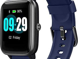 Smartwatch with 1 3  Full Touch Color Screen  Heart Rate   Sleep Monitor