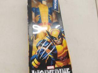 12  Wolverine X Men Action Figure licensed Marvel Hasbro Titan Hero Series