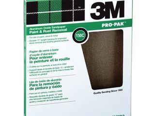 3M 99402NA 150C Grit Pro Paka Paint   Rust Removal Sandpaper Sheets