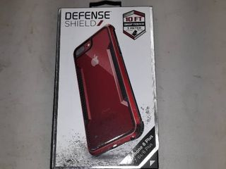 Defense Shield Iphone Case  Red