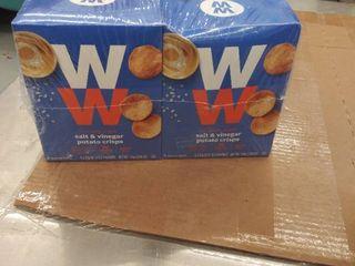 ww salt and vinegar potato crisps 20 count