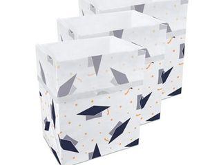 Clean Cubes llC Graduation Clean 10 Gallon Trash Can