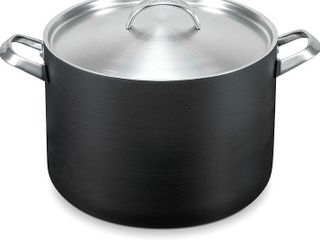 GreenPan 8 Quart Non Stick Dishwasher Safe Ceramic Covered Stockpot