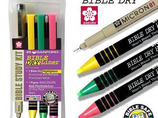 G T luscombe 129005 Bible Study Dry liner Marking Kit