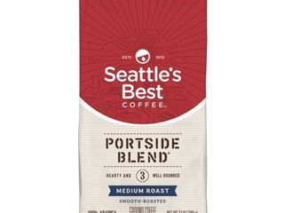 3 Seattles Best Coffee Portside Blend  Previously Signature Blend No  3  Medium Roast Ground Coffee 12 Ounce Bag