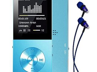 Mp3 player  Frehoy 8GB Portable MP3 Player Expandable Up to 128GB  Music Player Voice Recorder FM Radio with HD Headphone