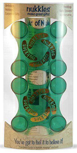 Blue Nukkles Easy to Use Hand Massage Tools  1 Pair