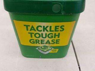 Cascade Fresh Scent Dishwashing Detergent Action Pacs  105 Count