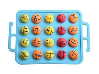 TRENDS home Macaron Silicone Mat Baking Pans