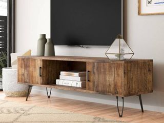 Quijada Solid Wood TV stand for TVs up to 65