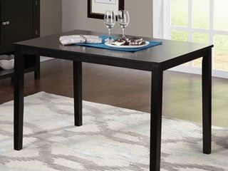 TMS Contemporary Dining Table  Multiple Finishes