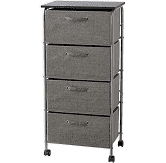 ORG 4 Drawer Storage Cart