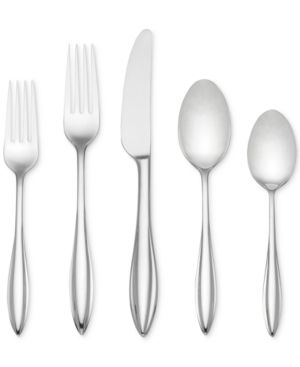 lenox Sculpt 65 Piece Flatware Set