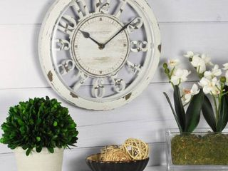 FirsTime   Co  Antique Contour Wall Clock