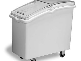 Continental 21 Gallon Mobile Ingredient Bin with Sliding lid