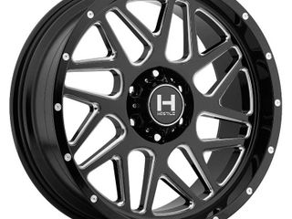 Hostile Black Sprocket Wheel 8x170 8x180 8x165 1   Ford F350