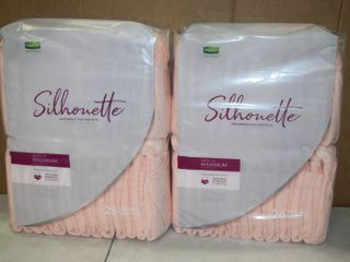 2 Bags of 26 Depend Sillhouette Underwear