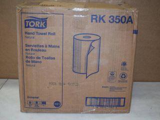 12 Tork Natural Hand Towel Rolls Paper Towels