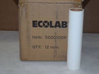 12 Rolls Ecolab lint Rollers