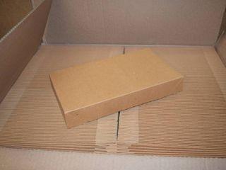 100 Boxes   Shirt Box Type   6 3 4  x 12  x 1 3 4