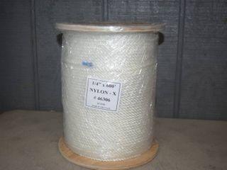 Spool Nylon Rope 1 4  x 600 Feet