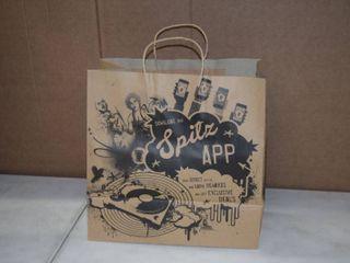 250 Shopping Bags 13  x 7  x 13