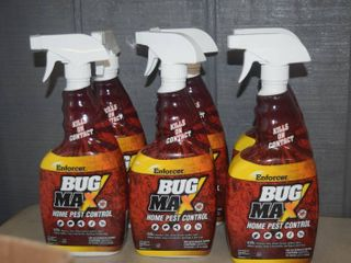 6 Bottles Enforcer Bug Max Home Pest Control