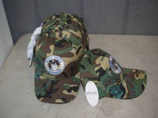 15 Ball Caps   Nice  Heavy Caps with Velcro Closure