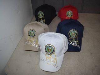 12 Ball Caps   Nice  Heavy Caps with Velcro Closure