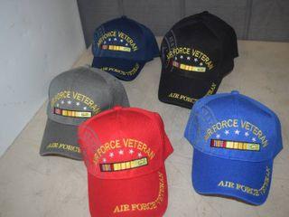 10 Ball Caps   Nice  Heavy Caps with Velcro Closure