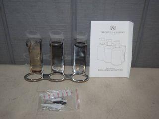 24 Gilchrist   Soames Triple Bracket Soap Dispenser Holder