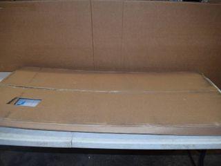Desk Shield   Plexiglass Partition COVID   24  x 48