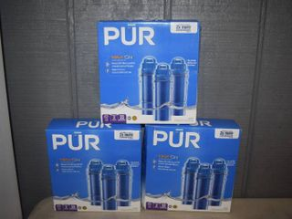 9 PUR Max Ion Water Filters