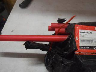 25 Sticks Sioux Chief PowerPEX 3 4  Red   10 Foot Sticks