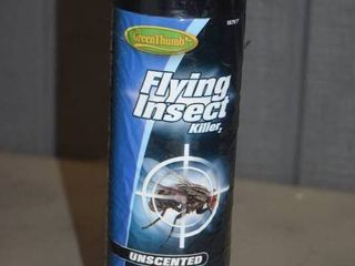 9 Cans Greenthumb Flying Insect Killer